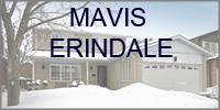 Mavis Erindale  Mississauga Homes for Sale